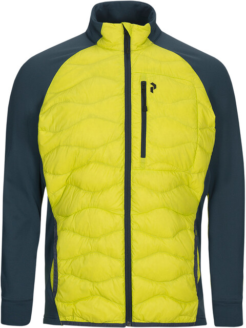 Peak Performance M's Helium Hybrid Jacket Blaze Lime